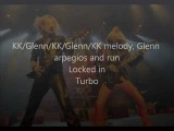 KK Downing / Glenn Tipton duels and harmonies part 2/2