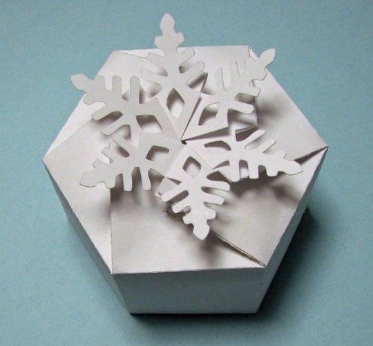 Коробочка «Снежинка»