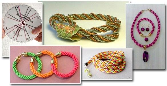 плетением Кумихимо,