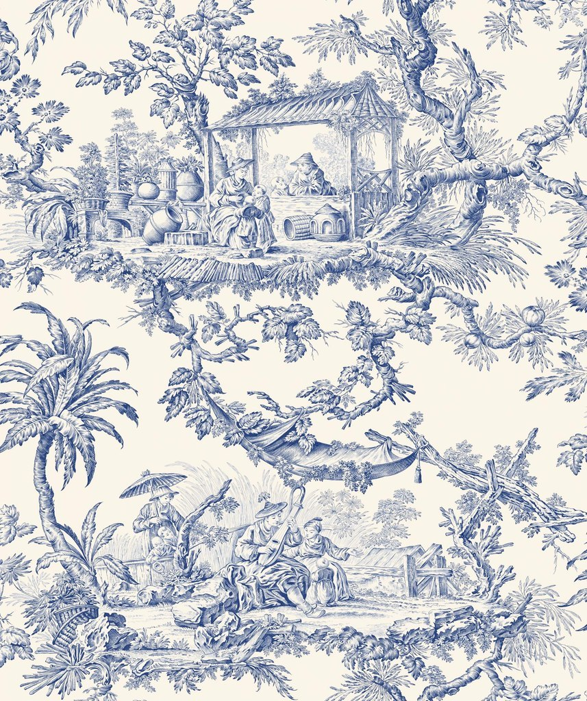 1000 images about toile de jouy on pinterest toile de for French toile fabric