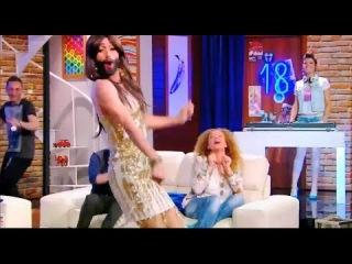 კონჩიტა ცეკვავს ქართულად Conchita Wurst's Parody Eurovision 2014 Winner