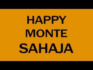 HAPPY MONTE SAHAJA (music by Pharrell Williams)