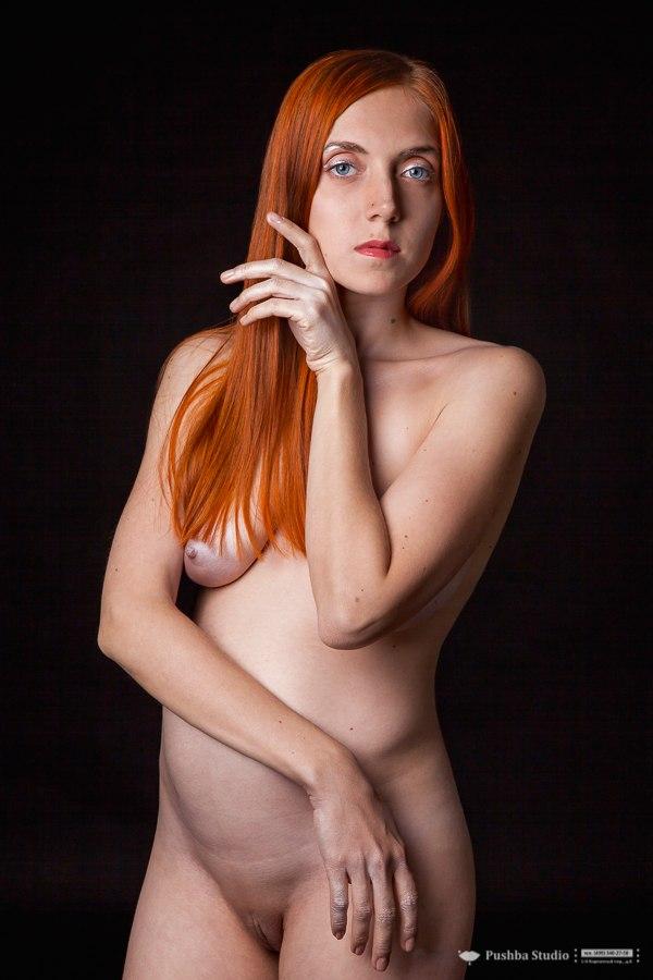 Фото голых беременных рыжие