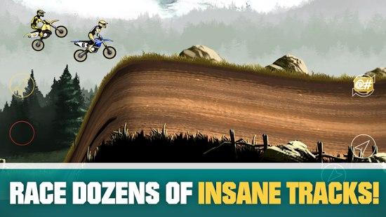 Скачать  Mad Skills Motocross 2для android
