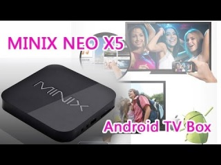 Minix Neo X5 Android TV Box&Media Player Full Review 88.47$ Low Price