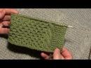 Как закрыть петли проймы с помощью полого шнура (I-CORD). Начало
