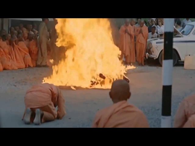 [Full HD] Bồ tát Thích Quảng Đức tự thiêu tại góc Nguyễn Đình Chiểu-CMT8