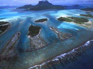 Бора-Бора. Жемчужина Тихого океана.