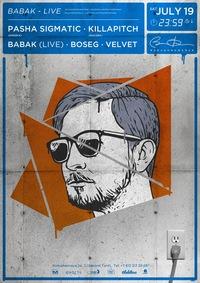 19/07 * BABAK (Live) * BarakObamaBar