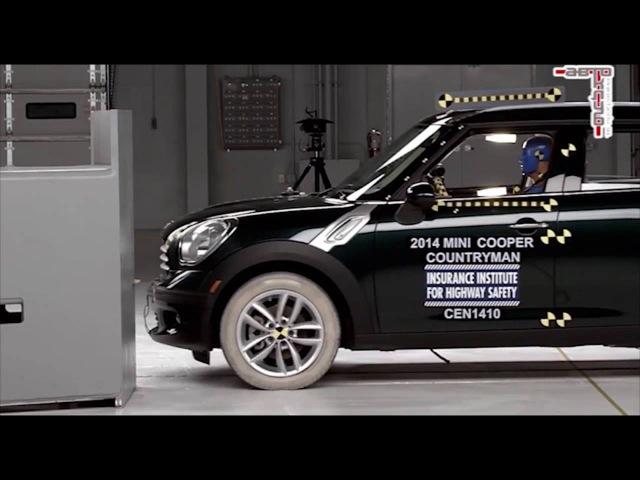 Краш тесты 8 самых безопасных автомобилей от EURO NCAP