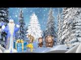 Футаж Зимний Сказка 5