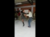 Amputee Woman LHD Rossy Lebó in Rokc and Roll Dance