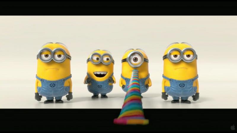 Музыкальное выступление миньонов из мультфильма - Гадкий Я 2 (Прикол) (Тизер) (Т