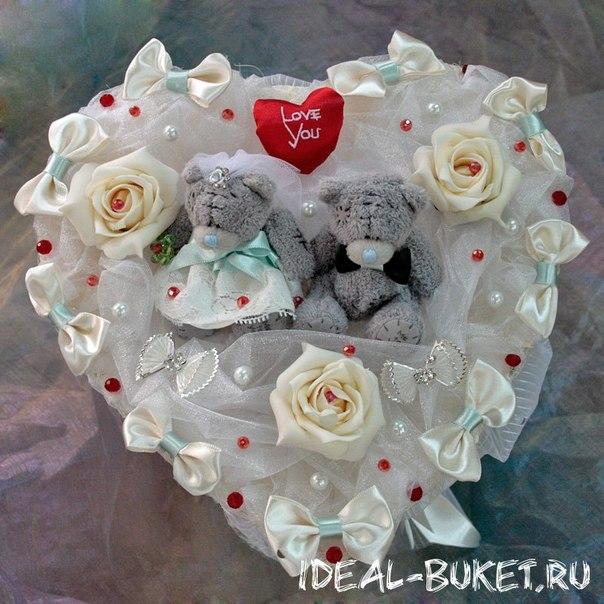 Как сделать букет из игрушек на свадьбу