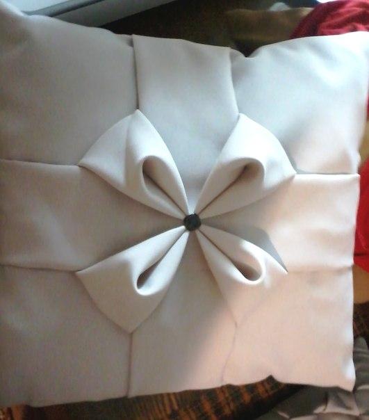 Как сшить подушку с буфами цветочек своими руками 155