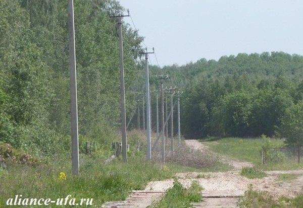 строительство воздушной линии ЛЭП