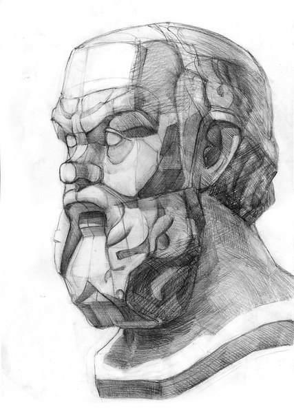 Wall | VK Гипсовая Нога Рисунок