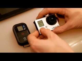 Как подключить новый пульт к камере GoPro Hero3