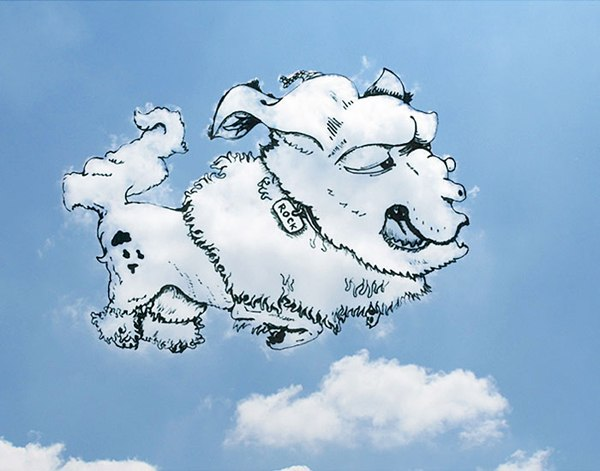 Rock The Weird Dog Cloud