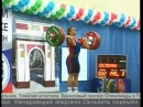 Weightlifting Nadezda Evstyukhina champion of Russia 2009
