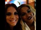 Ivete con Beyonce : Zamuris, pra vcs!!! Muito fofilda e talentosa demais