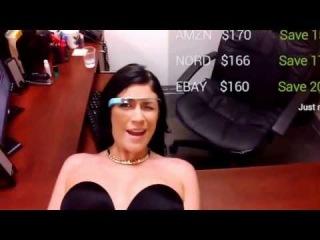 Porn google glass