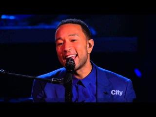 Alicia Keys John Legend - Let It Be (Beatles 50th anniversary)