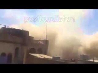 IS sprengt êzîdîsche Pilgerstätte, Shingal - Ezdixan Kurdistani