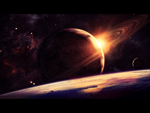 ♪♫ Space Delta Waves | with Binaural beats and Isochronic Tones
