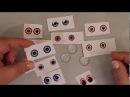 Как сделать живые глазки из кабошонов