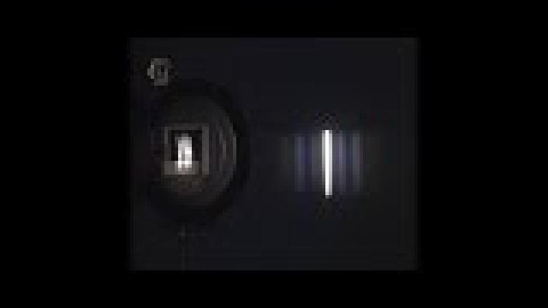 Опыты по физике. Дифракция естественного света от дифракционной решетки