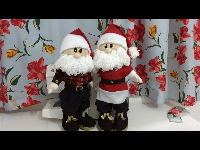 Papai Noel em pé