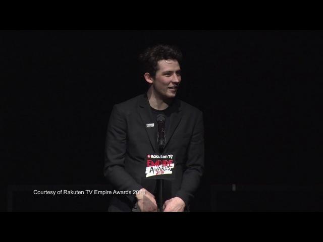 Best Male Newcomer Josh O'Connor 2018 Rakuten TV Empire Awards