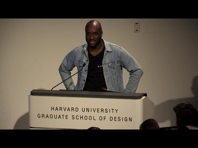 "Core Studio Public Lecture Virgil Abloh, ""Insert Complicated Title Here"""