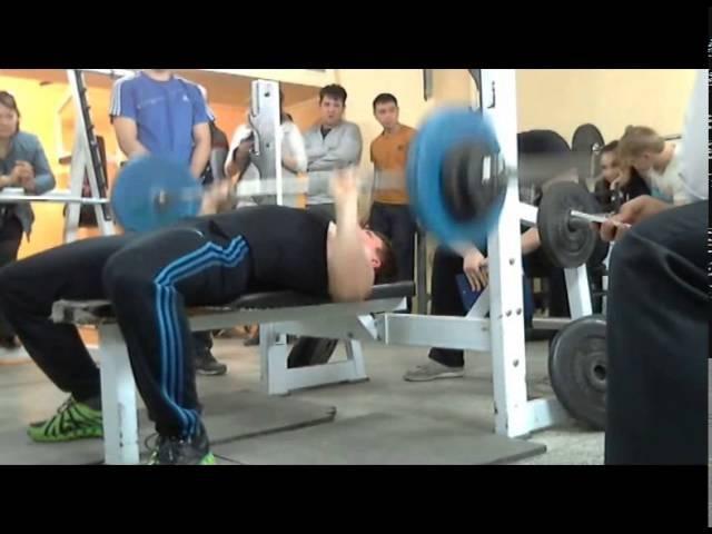 Кирдяк В, СВ=92,5 кг, 75 кг на 20 повт, 25-04-2014