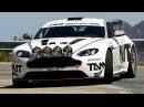 ASTON MARTIN V8 VANTAGE GT4 TEST CHECKPOINT RALLYE
