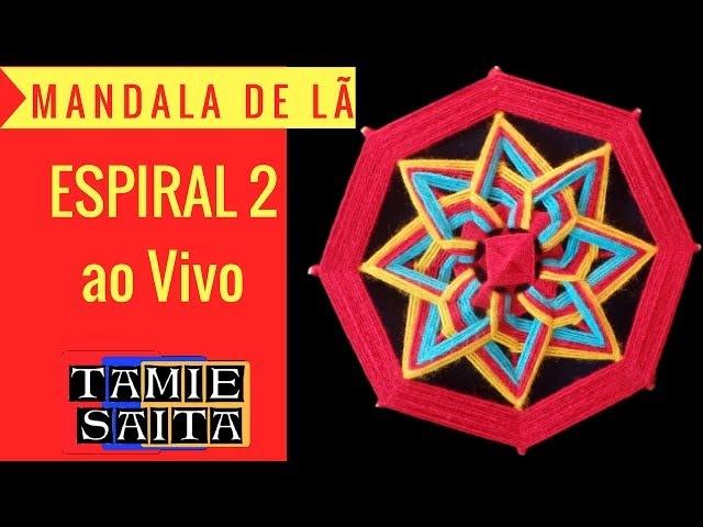 Como fazer Mandalas Espiral 2 - ao Vivo com Tamie Saita