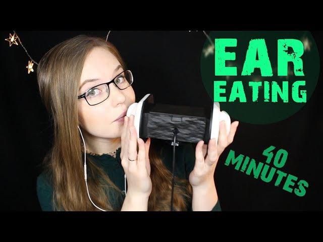 40 Mins LITERAL Ear Eating ⚡️ GET YOUR TINGLES BACK ⚡️ Breathy No Talking Binaural HD ASMR