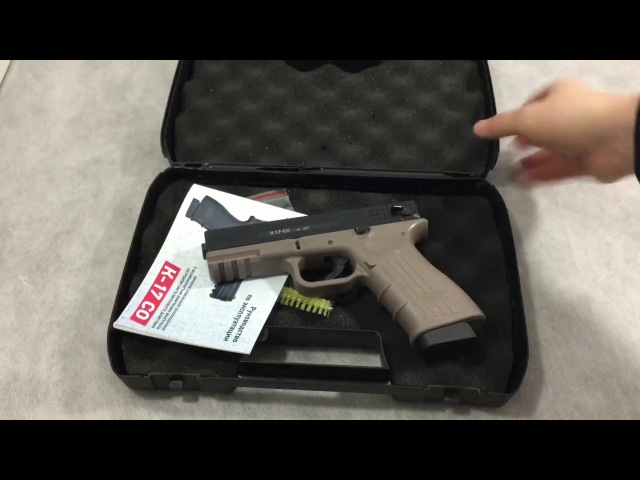 ОБЗОР И СТРЕЛЬБА. Пистолет Глок 17 схп без лицензии (К17-СО)