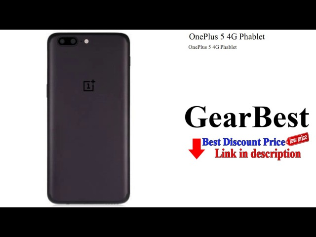 OnePlus 5 4G Phablet | GearBest review - unboxing