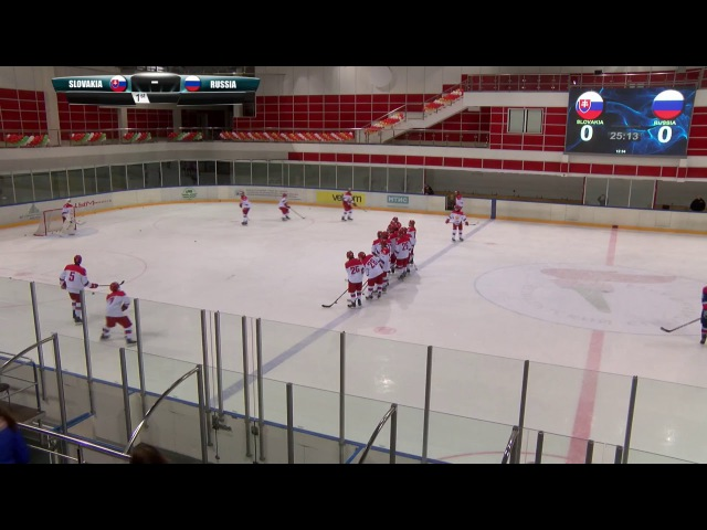 President sportclub Cup. Game 1. Slovakia - Russia