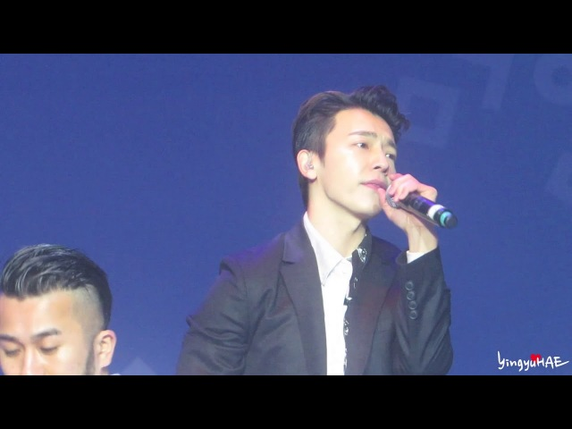 180224 HEADLINER SHOW - SUPER JUNIOR DE - GROWING PAINS 너는 나만큼 (DONGHAE FANCAM)