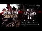 METAL GEAR SURVIVE Launch Trailer  KONAMI (PEGI)