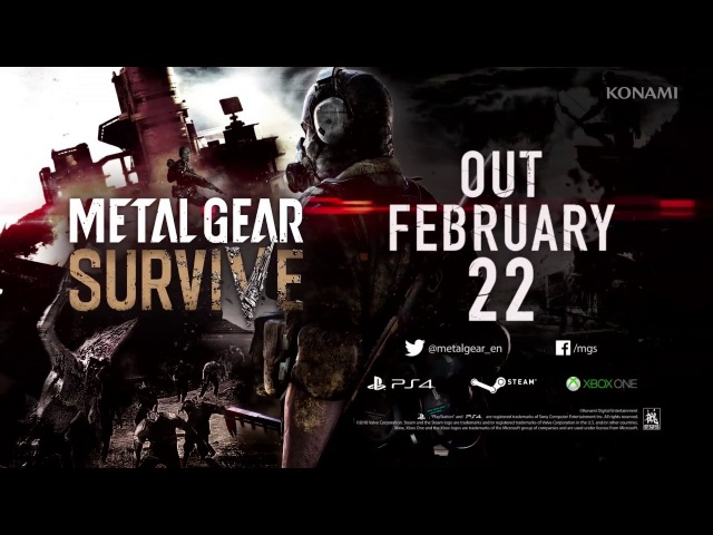 METAL GEAR SURVIVE Launch Trailer | KONAMI (PEGI)