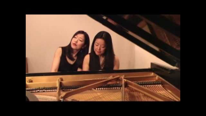 Mack Sisters Piano Duo perform Moldau by Bedrich Smetana