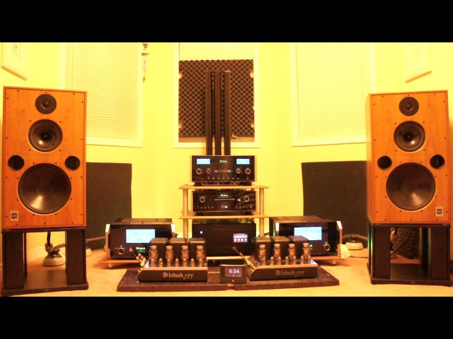 Harbeth M40.1 with McIntosh MC 601 C2300 MC 275 MCD 500