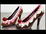 CHOCOLATE SHOES How To by Cakes StepbyStep