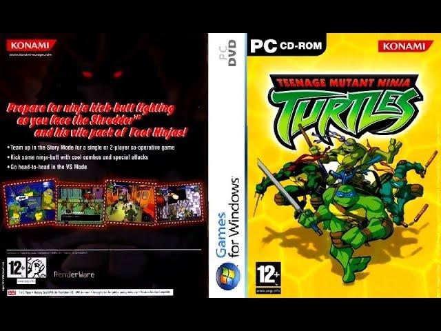 Teenage Mutant Ninja Turtles 2003: Video Game (PC) - All Turtles Gameplay