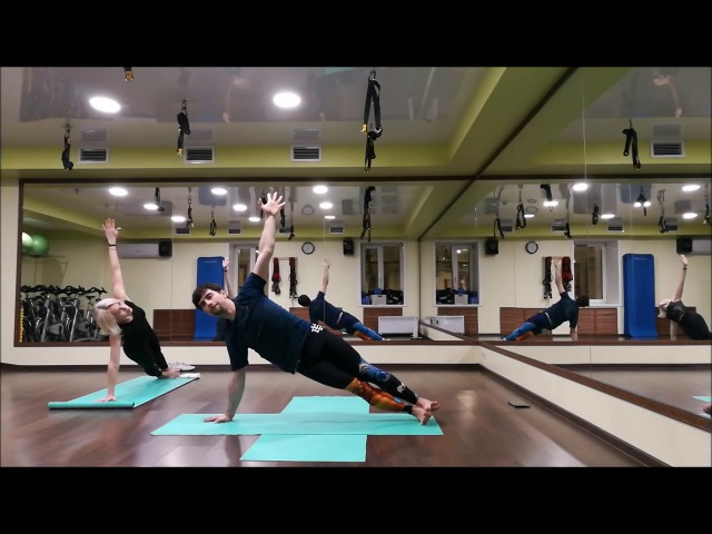 Daily practice yoga boreal