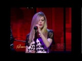 Avril Lavigne - Wish You Were Here Live With @ Rachael Ray Show